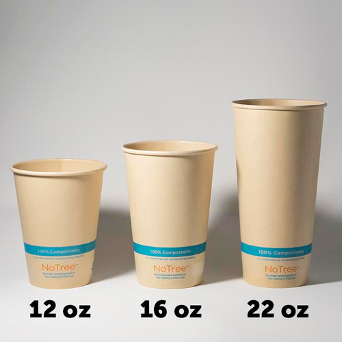 NoTree Compostable Cold Cups