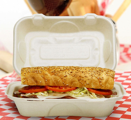 Fiber Hoagie Box TO-SC-UHBL-LF