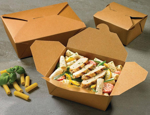 Fold-Pak BioPlus Terra II Food Containers 08BPTRAIIM