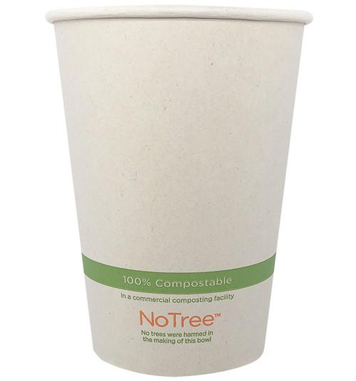 32 oz Custom Compostable Sugarcane Paper Bowls