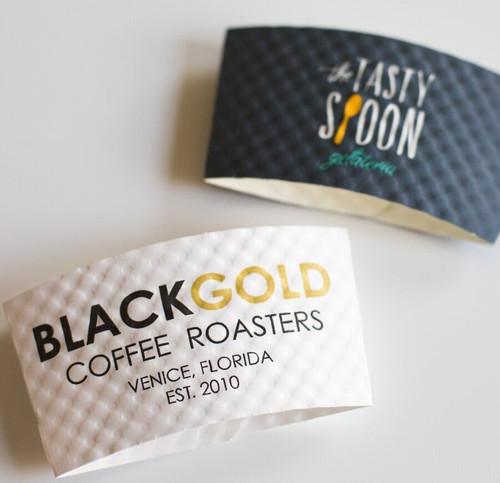 Java Jacket Custom Printed Coffee Cup Sleeves