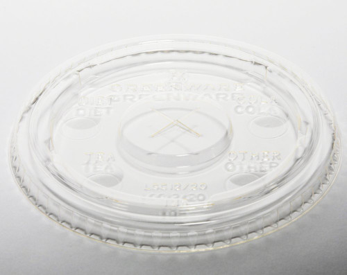 9509111 PLA Lid with Flavor Buttons Sample