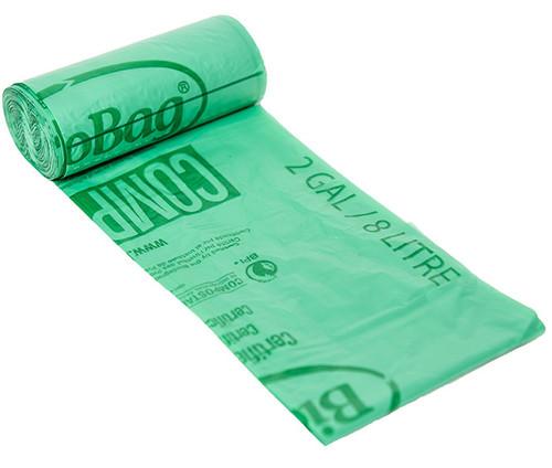 BioBag 2 Gallon Compost Bin Liner Bags 02G1517
