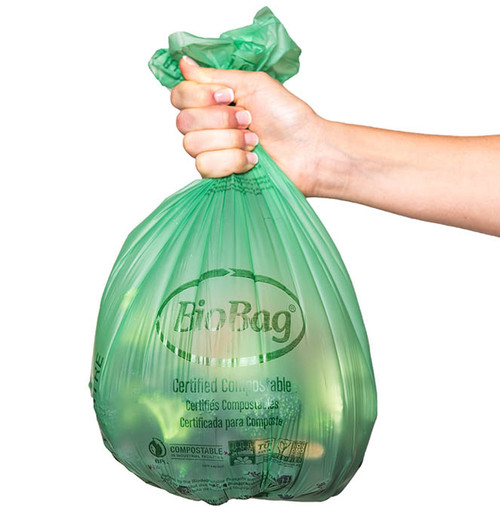 BioBag 3 Gallon Compost Bin Liner Bags 03G1718