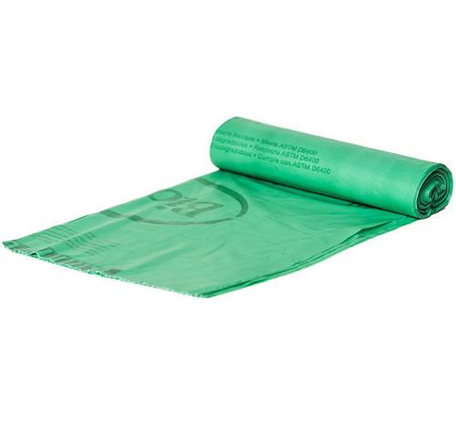 BioBag 44 Gallon Compostable Trash Bag Sample