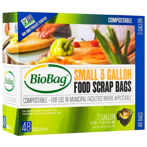 BioBag Small 3 Gallon Food Scrap Bags 187132