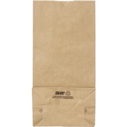 "8# Duro Recycled Kraft Bag,  6.13"" x 4"" x 12.44"""