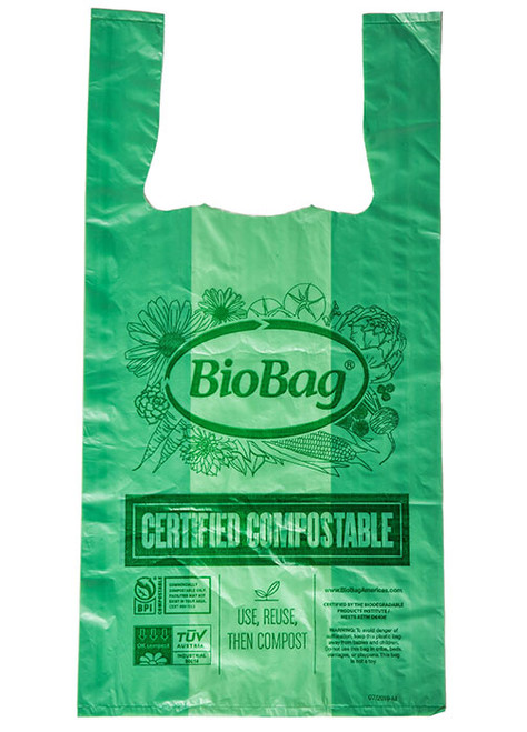 Small Compostable Shopping Bags BioBag Sample