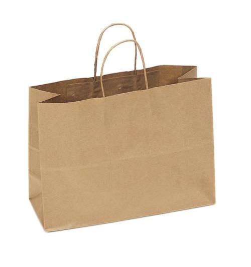 16 x 6 x 12 Kraft Recycled Shopping Bag Sample