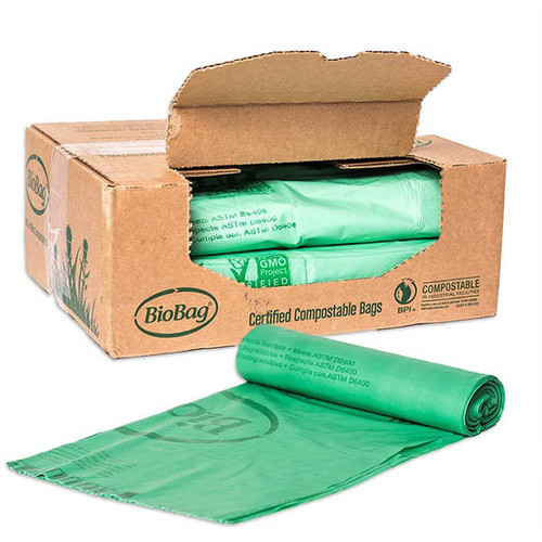BioBag 48 Gallon Compostable Trash Liner Bags 48G4248