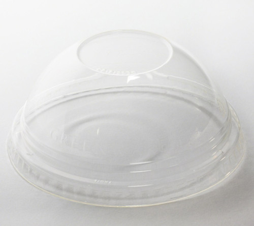 Domed PLA Lid sample   No Hole   Fit 9, 12, 14, 20 oz Cold Cup