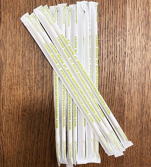 PHA Straws Marine Degradable & Home Compostable