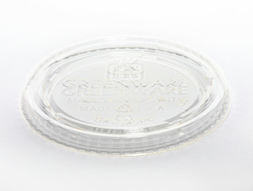 PLA Lid | Fits 3.25 & 4 oz Portion Cup | Sample