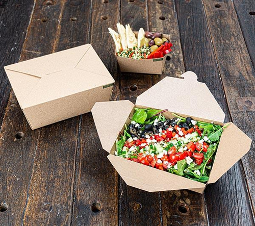 Innobox Edge Compostable To Go Boxes