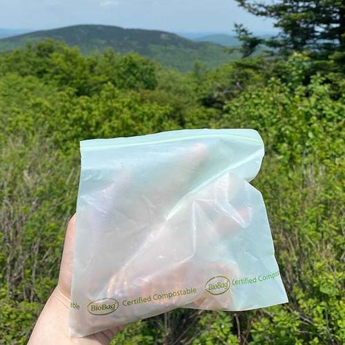 BioBag Resealable Sandwich Bag samples