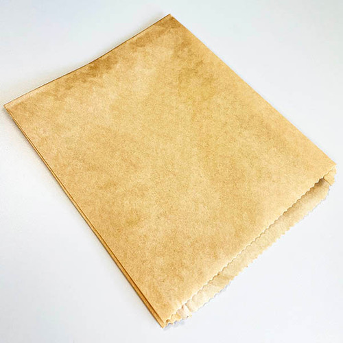 "Natural Kraft Food Bags | 6"" x .75"" x 7.25"" | 6534-NAT"