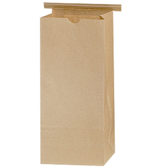 2 lb Kraft Coffee Bags PLA Lined sample