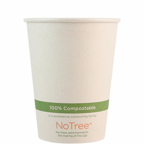 12 oz compostable sugarcane  coffee cup CU-SU-12