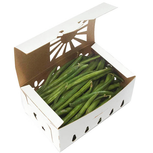 paper green bean container samples