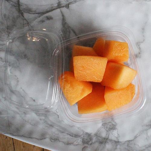 12 oz Square PLA Fruit Deli Containers Sample