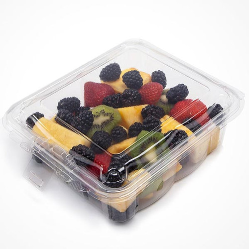 Simply Secure Square 48 oz Top Seal Container Sample
