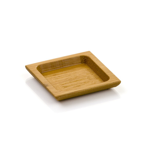 Carved Bamboo Plate 2.5 in. | 100 count