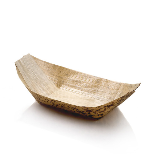 Bamboo Boat Large 8"