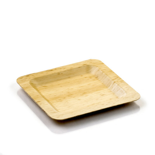 """Bamboo Leaf Dinner Plate 9.8"""" 