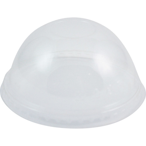10 to 24 oz World Centric Dome Lids (No Straw Hole) | 1,000 count