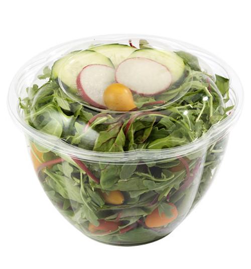 Clear PLA Salad Bowl 48 oz