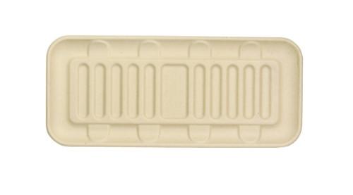 Compostable Flat Fiber Tray TR-SC-UL6