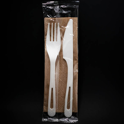TPLA Fork, Knife, and Napkin  AS-PS-FKN