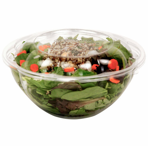 24 oz Clear Salad Bowls