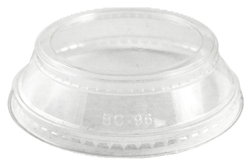 Clear Lid with Souffle Holder for 9-24 oz Cups CPL-CS-12SH