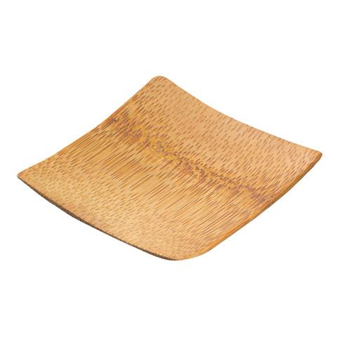 """209BBKRABI KRABI"""" Bamboo Mini Square Dish - 2.4 x 2.4"""