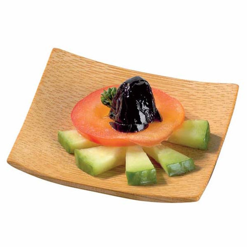 """""""KRABI"""" Bamboo Mini Square Dish - 2.4 x 2.4"""" 209BBKRABI"""
