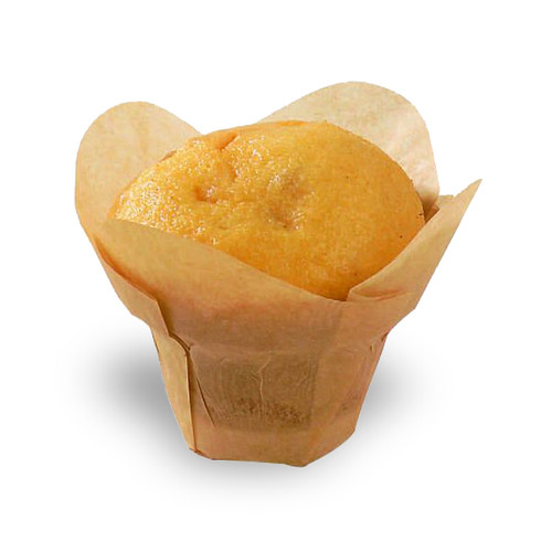 """LOTUS"" Golden Brown Silicone Baking Cup 1oz - 1.1"" 
