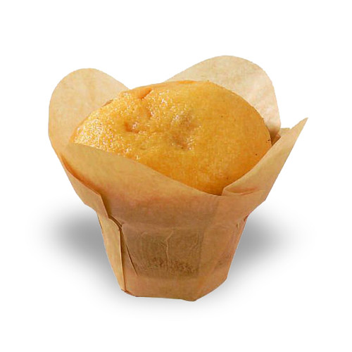 """""""LOTUS"""" Golden Brown Silicone Baking Cup 1.5"""" 