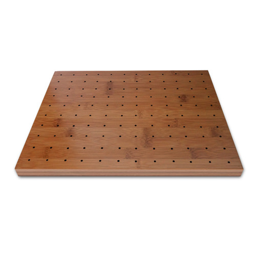 """120 Holes Thick Bamboo Pick Holder - 11.8 x 9.8"""" 
