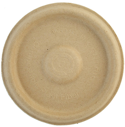Lid for 4 oz fiber portion cup | 1,000 count