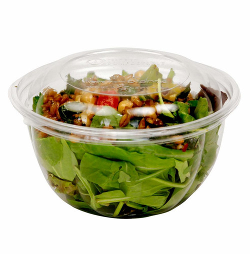 PLA 16 oz Clear Salad Bowl SB-CS-16