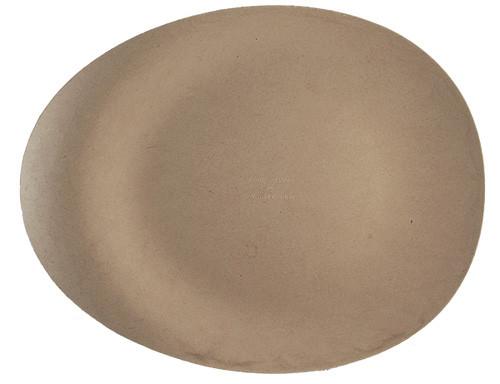 "12"" Fiber Modern Oval Plate OV-SC-12"