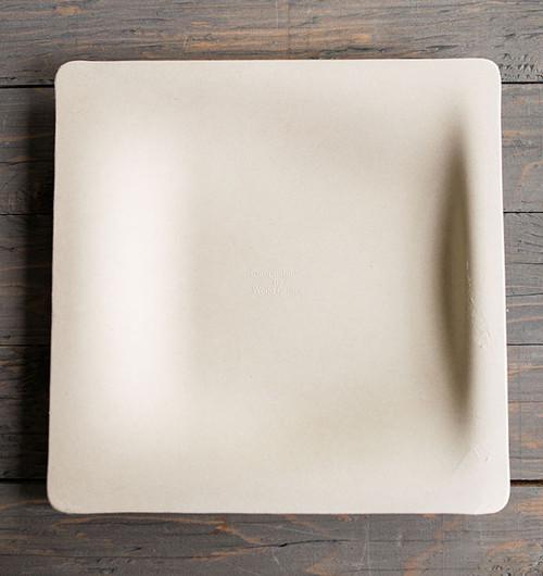 "10"" Fiber Square Plate SQ-SC-10"