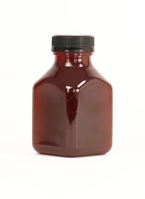 8 oz Square Plastic Juice Bottle Sample