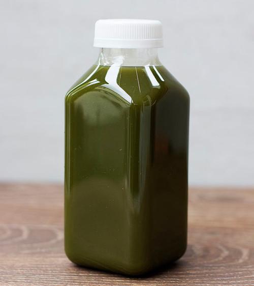 12 oz Square Juice Bottle Sample
