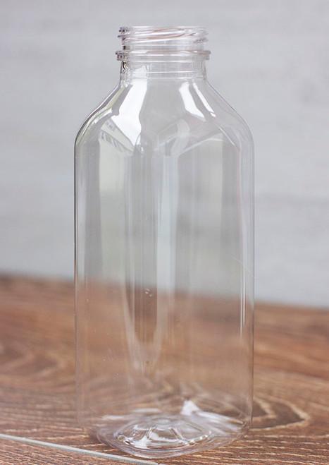 16 oz Square Juice Bottle Sample