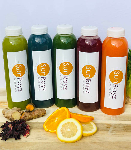 wholesale 16 oz juice bottles round