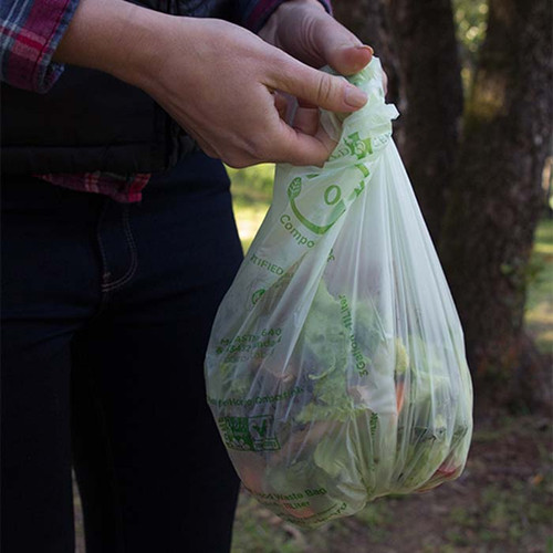 3 Gallon World Centric Biodegradable Trash Bags