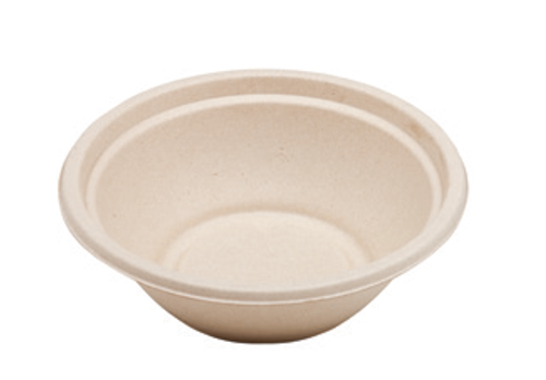 24 oz Bagasse Bowl Sample