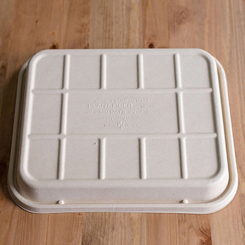 Fiber Raised Lid Sample - Fits 104 to 120 oz Catering Trays